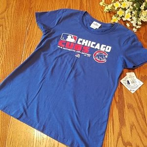 NWT Chicago Cubs top